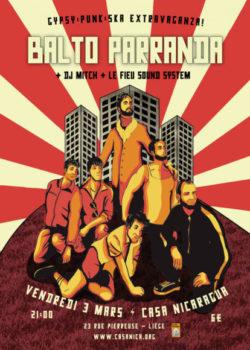 Vend. 3/03: BALTO PARRANDA | Gypsy/Punk/Ska