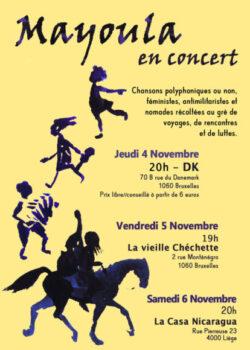 Sam. 6/11: Mayoula en concert