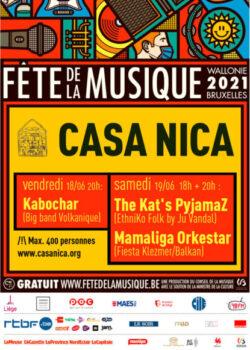 18-19 Juin: Fête de la Musique de la Casa Nica